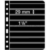 Лист VARIO для телефонных карт, 8 ячеек, двусторонний, с черной основой