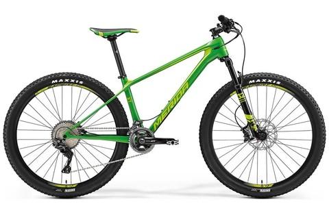Merida Big.Seven XT (2017) зеленый