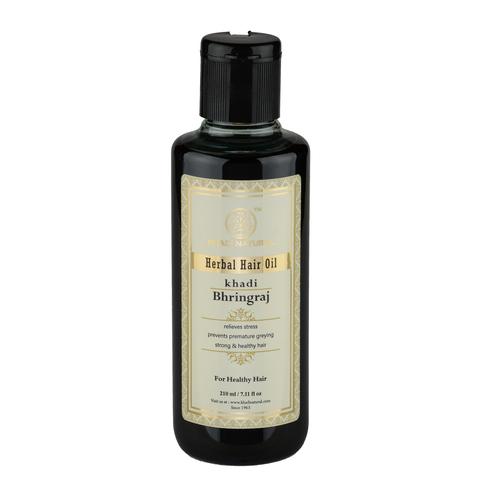 """""""Брингарадж"""" масло против выпадения и для роста волос Khadi Natural, 210 мл"""