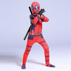 Детский костюм Дэдпул Deluxe с двумя мечами