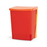 Встраиваемый мусорный бак (10 л), Красный, арт. 482267 - превью 2