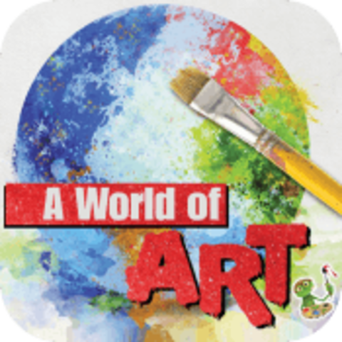 A World of Art CD-rom