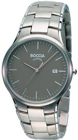 Купить Мужские наручные часы Boccia Titanium 3512-02 по доступной цене