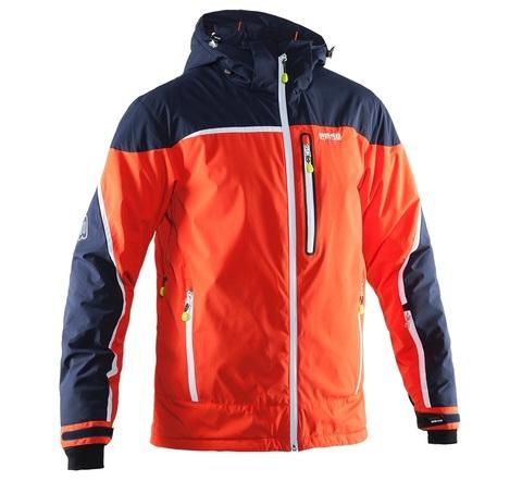 Мужская горнолыжная куртка 8848 Altitude Iron Softshell (neon red)