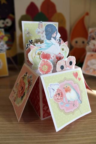 036_9950 Pop-up открытка-коробочка
