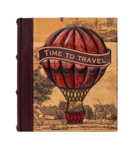 Фотоальбом большой «Время путешествовать»