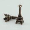 """Подвеска """"Эйфелева башня"""" 3D 25х9 мм (цвет - античная медь)"""