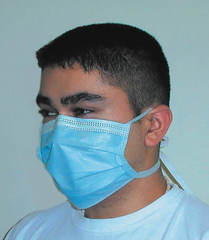 Одноразовые хирургические маски Surgical Tie-On (50 шт.)
