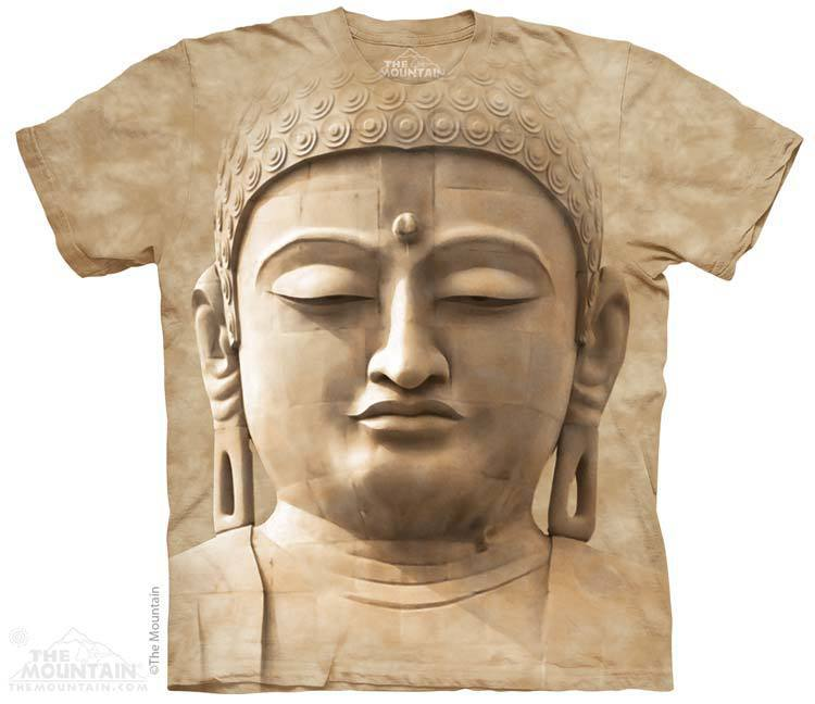 Футболка Mountain с изображением Будды - Buddha Portrait