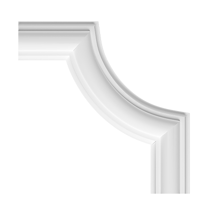 Угловой элемент Европласт из полиуретана 1.52.322, интернет магазин Волео