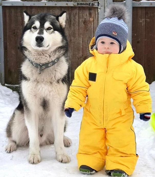 комбинезон детский зимний SASHA JUNIOR желтый