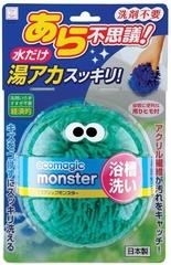 KOKUBO Ecomagic monster Чудоcпонж для ванной без использования моющих средств (зеленый)