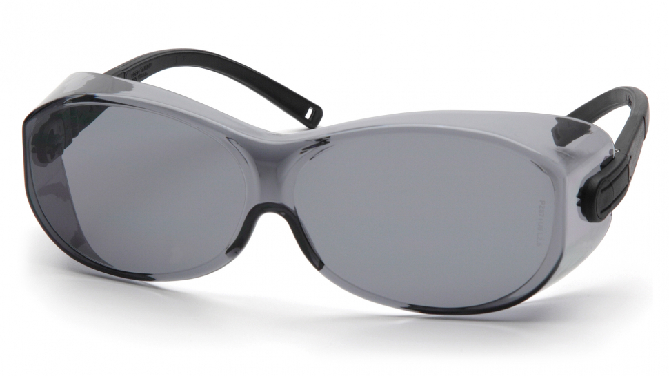 Очки баллистические стрелковые Pyramex OTS XL S7520SJ Diopter на очки серые 23%