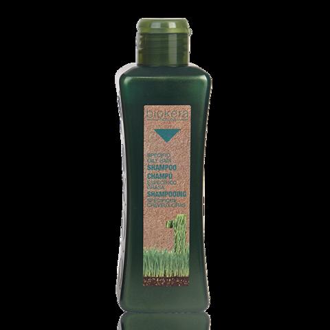 Шампунь для жирной кожи головы Biokera (1 литр)