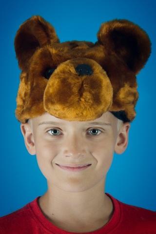 Карнавальная шапочка Медведя