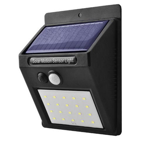 Ф.настенный уличный 6009-20SMD, 1x18650, датчик света