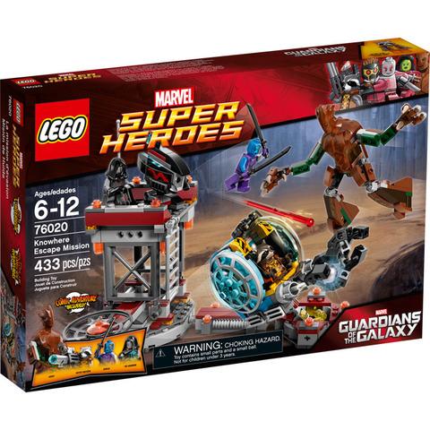 LEGO Super Heroes: Миссия Побег в Забвение 76020 — Knowhere Escape Mission — Лего Супергерои Марвел