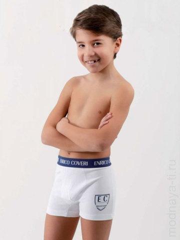 Детские трусы для мальчиков EB4039 Boy Boxer Enrico Coveri