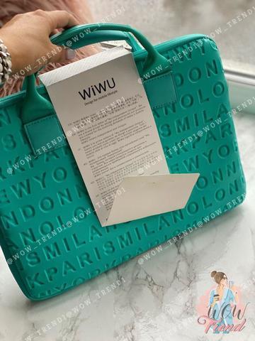 Сумка для ноутбука 13.3'' Wiwu Cosmo Slim case /green/