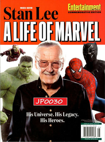 Stan Lee A Life of Marvel Magazine
