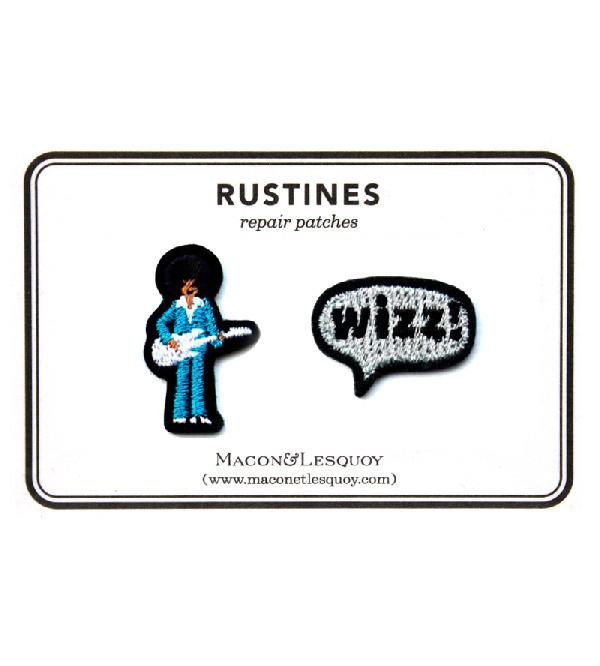 Набор патчей-заплаток Guitariste & Wizz от Macon&Lesquoy