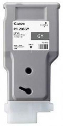 Картридж Canon PFI-206GY grey (серый) для imagePROGRAF 6400/6450