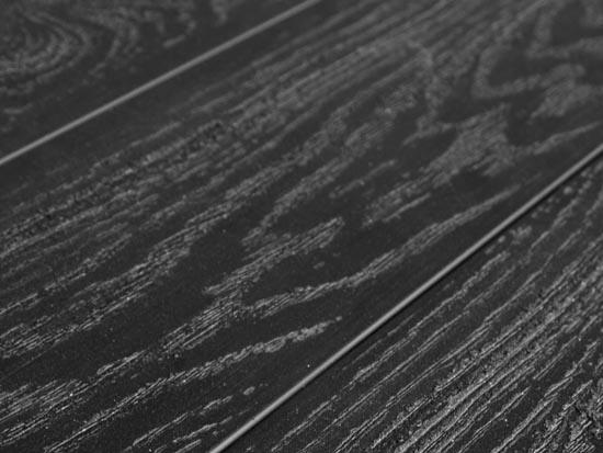 Террасная доска SW Padus (T) - тангенциальный распил. Цвет черный.