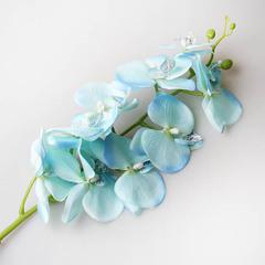 Орхидея 90 см, синяя 9131