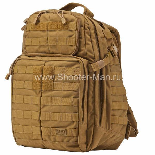 Тактический рюкзак 5.11 RUSH 24 BACKPACK, цвет FLAT DARK EARTH фото