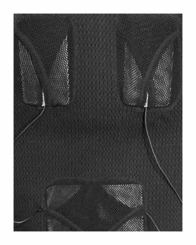 Жилет шерстяной с подогревом RedLaika Arctic Merino Wool RL-TW-07 женский черный