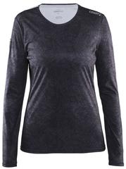 Рубашка беговая Craft Mind Run Black женская