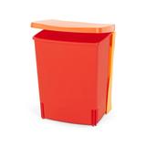Встраиваемый мусорный бак (10 л), Красный, арт. 482267 - превью 3