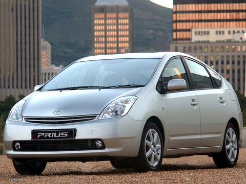 Чехлы на Toyota Prius 2003–2009 г.в.