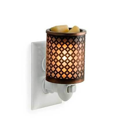 Аромасветильник розеточный Марокканский Металл, Candle Warmers