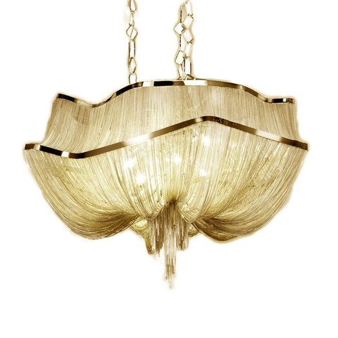 replica TERZANI   Atlantis 2 suspension lamp (gold)