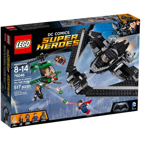 LEGO Super Heroes: Поединок в небе 76046 — Heroes of Justice: Sky High Battle — Лего Супергерои Marvel Марвел DC Comics комиксы