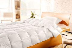 Одеяло пуховое всесезонное 155х200 Brinkhaus Blanche