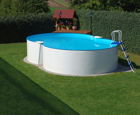 SF Каркасный (сборный) бассейн восьмерка 150х625x360
