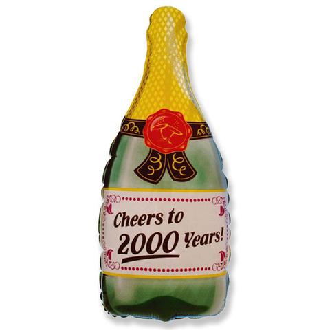 Фольгированный шар Бутылка шампанского