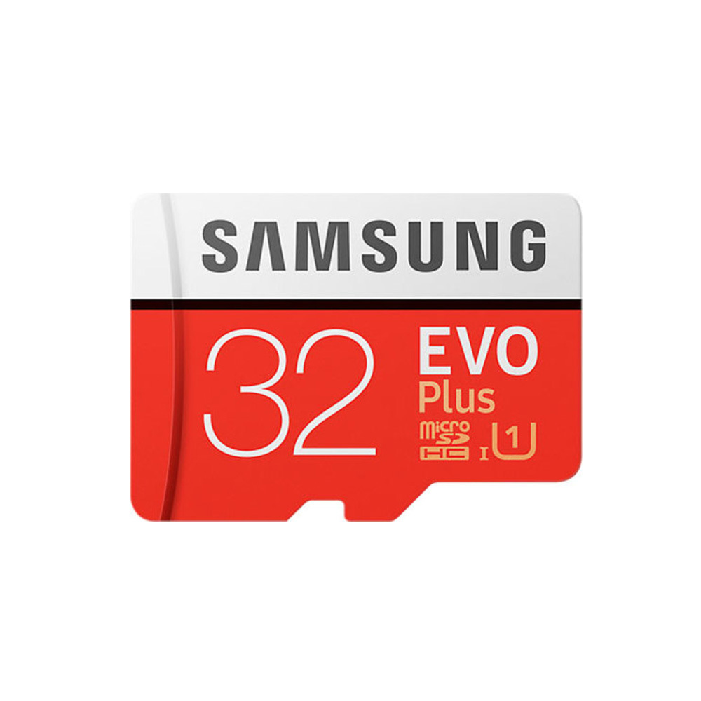 Карта памяти Samsung microSDHC EVO Plus 32Gb + SD adapter
