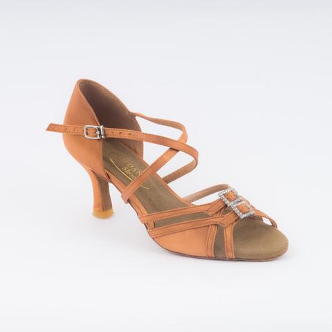 Туфли для латины с регулировкой полноты стопы арт.S297dt6