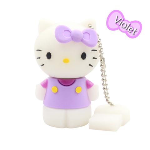 USB-флешка Hello Kitty фиолетовая