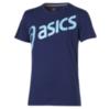 Мужская футболка Asics Logo SS Top (125072 8052) синяя