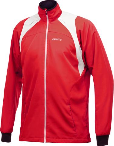 Лыжная куртка Craft Touring мужская красная 2430