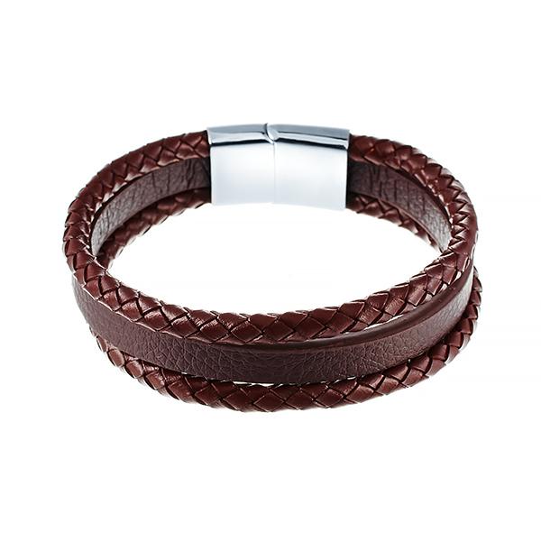 Кожаный браслет JV 149-0169