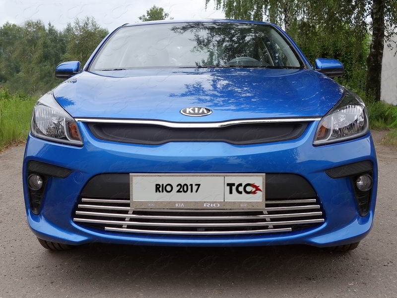 Решетка радиатора нижняя 16 мм код KIARIO17-16 для KIA RIO 2017 - 100pcs lot ka331 dip 8 new origina