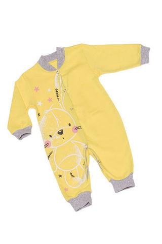 Алена 6-2288 Комбинезон детский желтый с открытой ножкой