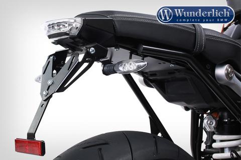 Держатель номерного знака с подсветкой Standard Sport BMW RnineT- черный