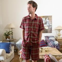 Домашний костюм с шортами и рубашкой William от Casual Avenue