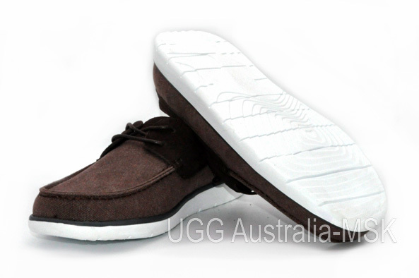 UGG Men's Catton Canvas Chocolate